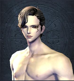 剑灵人男捏脸数据:妖娆王爵人男捏脸数据