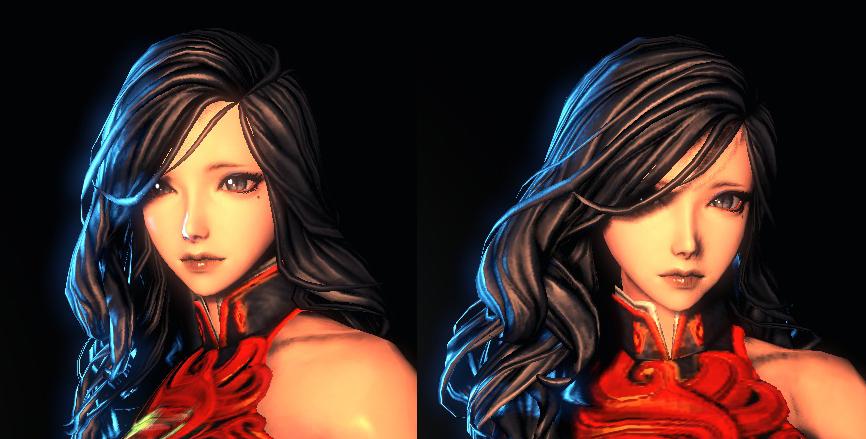 剑灵人女捏脸数据 泪痣少女人女捏脸数据