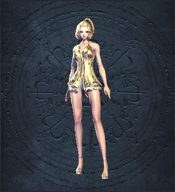 剑灵人女捏脸数据 完美长腿短发人女捏脸数据